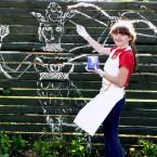 Алиса рисует Берегиню