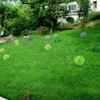 Инсталляция. Пузыри из лозы. Автор Екатерина Попова.