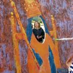 Я и Джаныке-Ханум. Первая женщина правительница Крыма. Художник Эльвира Ковалева.