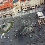Оберег Мира в Праге из Цветов
