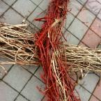 Пояс-оберег из виноградной лозы