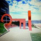 Инсталляция Красный ключ. Эскиз.