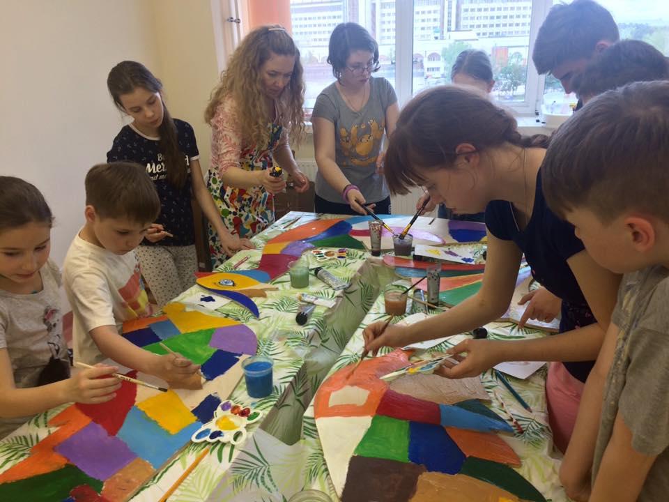 Мастер-класс с детьми по созданию Птицы Счастья