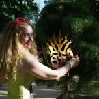 Установка маски на дерево