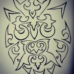 сова в татарском орнаменте