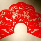 Кокошник в стиле городецкой росписи