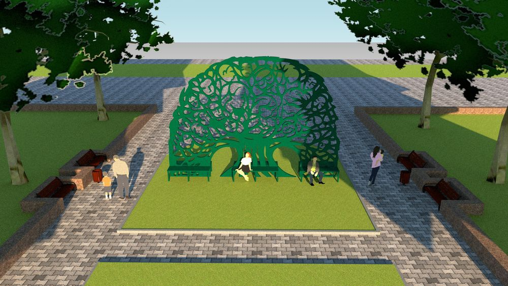 Инсталляция Дерево Рода