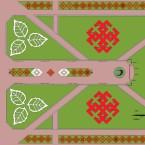Портал матери Земли и символы обереги из русской вышивки