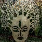 Напольная маска Будды