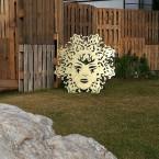 Напольная маска Солнца