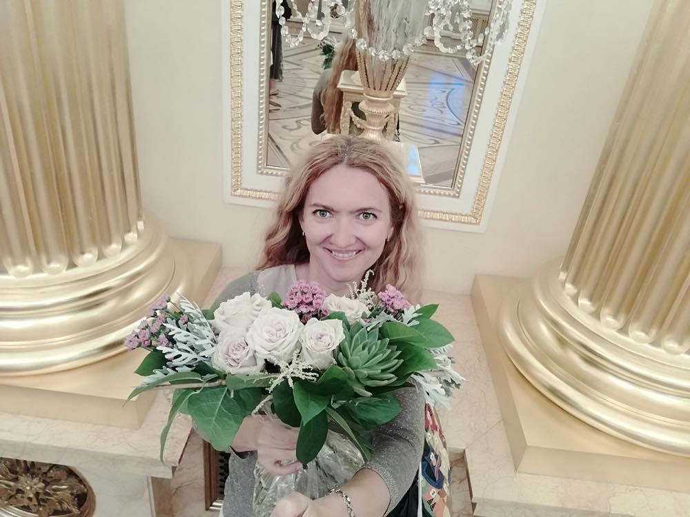 В Екатерининском дворце в Царицыно