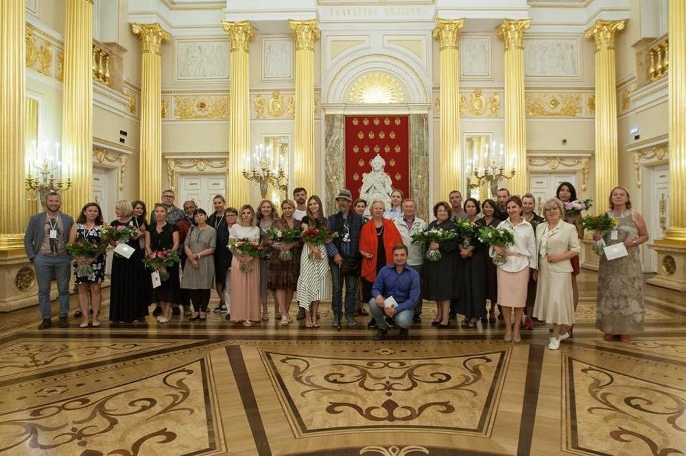 Награждение победителей в Екатерининском дворце в Царицыно
